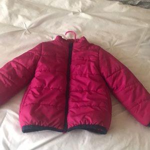 Toddler Pink puffer coat